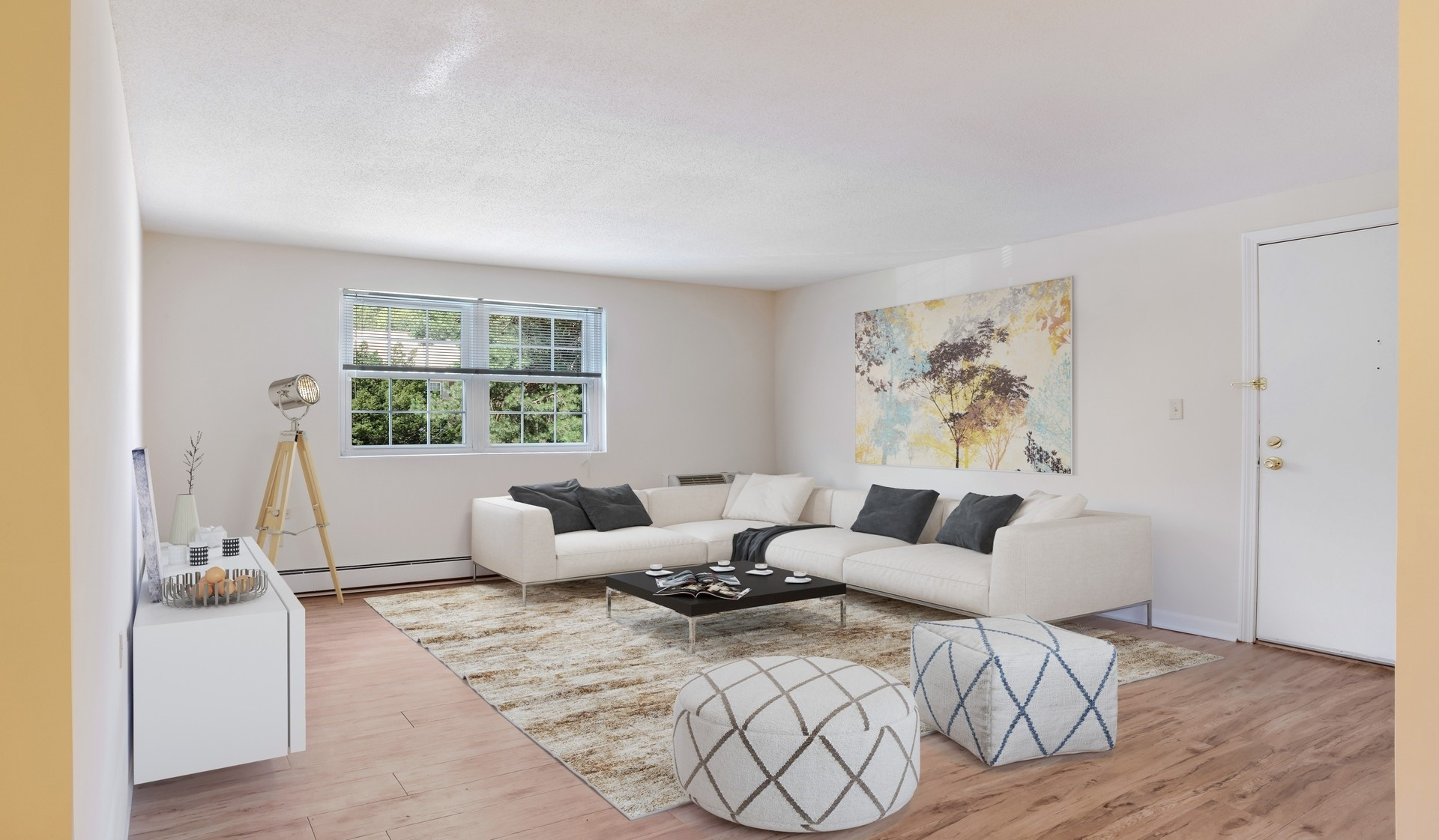 Wexford Village Apartments | Living Room Interior
