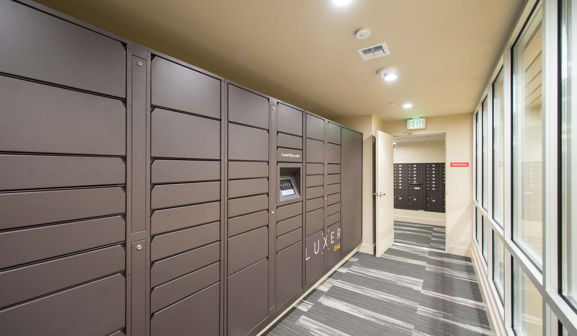 Wexford Village Apartments - Worcester, MA - package lockers